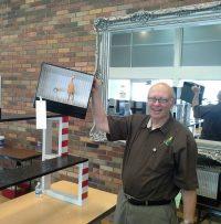 Judge Bill Birney with unusual exhibit-1_resized