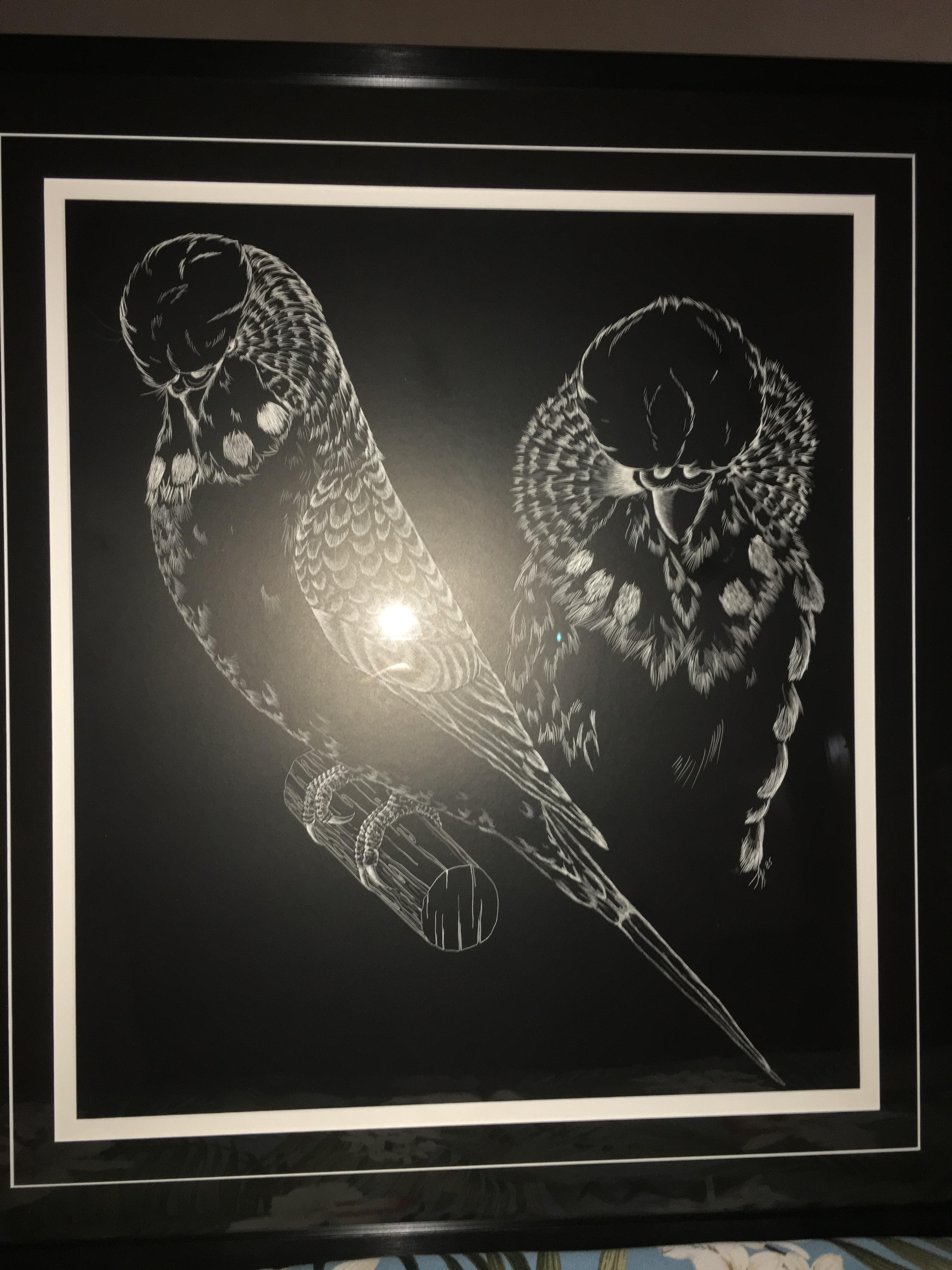 silent auction original art work all american